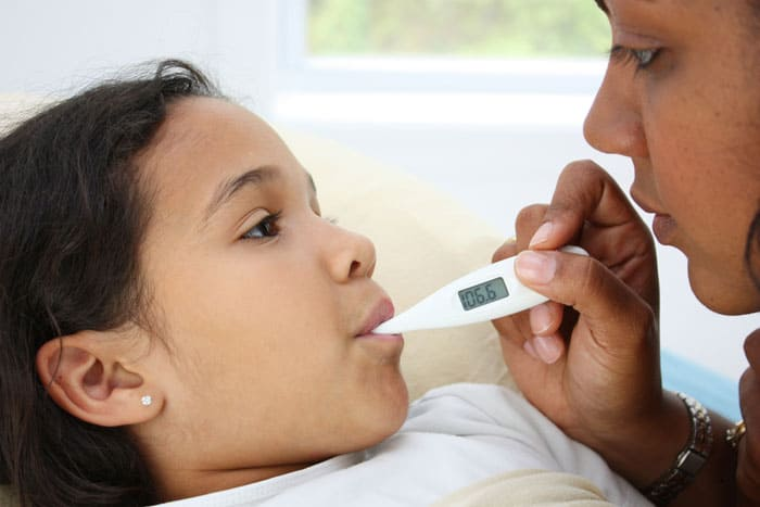 Doctor Dina Health Advice for Kids - fever in kids
