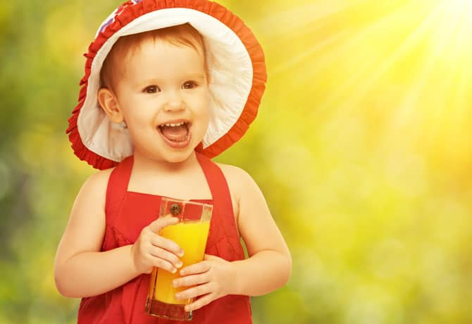 Healthy Drinks For Kids – Does Juice Count?