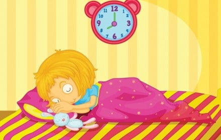 Doctor Dina Health Advice for Kids - healthy sleep