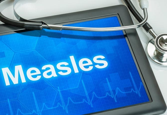 What Does The Measles Rash Looks Like?