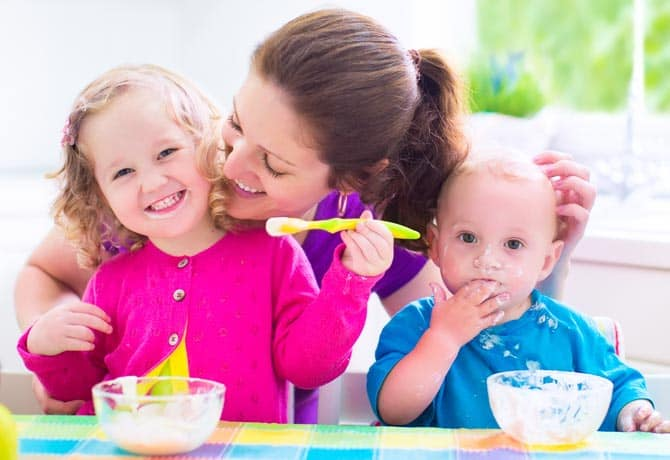 Doctor Dina Health Advice for Kids - what to make for breakfast