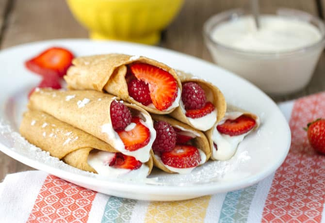 Easy Dessert Recipes For Kids – Dessert Tacos
