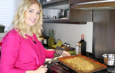 Dr Dina Kulik chickpea poppers - kids healthy snacks