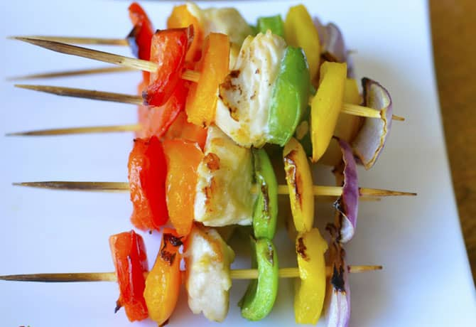 BBQ Chicken Recipes For Kids – Chicken Kabobs With Dip