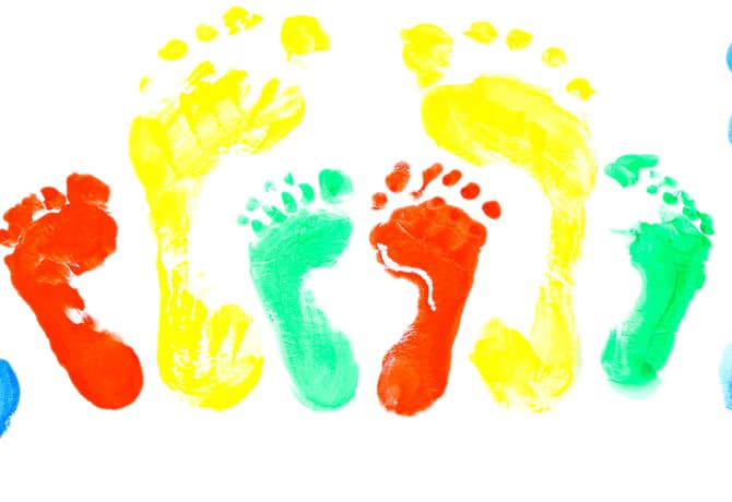 Homemade Gifts For Mom This Mother's Day – Footprint Art