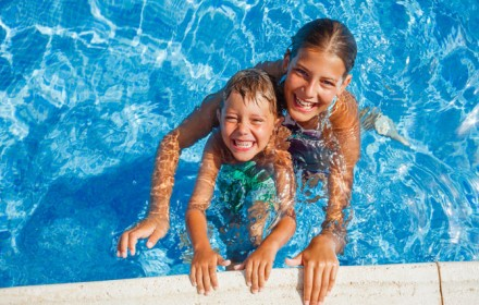 Doctor Dina Health Advice for Kids - swimming classes for kids