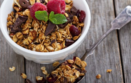 Doctor Dina Health Advice for Kids- healthy granola recipe