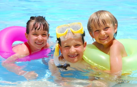Doctor Dina Health Advice for Kids - kids swimming pools