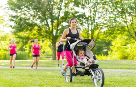 Doctor Dina Health Advice for Kids- running after having a baby