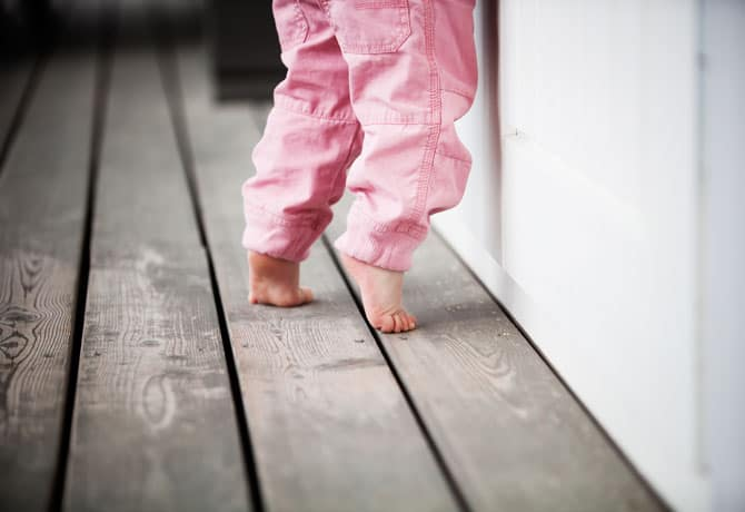 Toe Walking – When to Seek Help