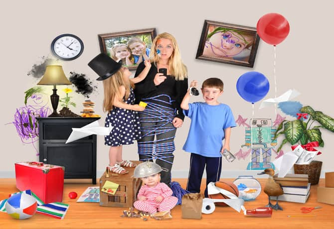 Being A Busy Mom: Rules and Structure