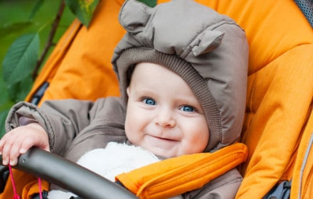 Doctor Dina Health Advice for Kids- stroller