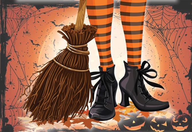 How to Keep Your Child's Feet Safe and Dry While Trick-or-Treating