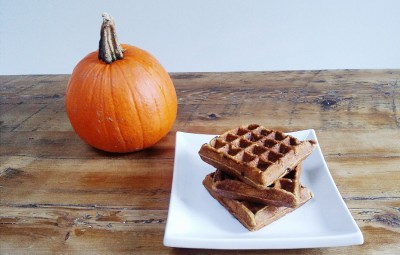 No need to buy frozen waffles! You can make your own healthy pumpkin freezer waffles and enjoy them all year long with this recipe from Rebecca Earl!
