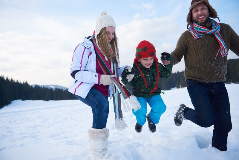 Keep the Whole Family Active this Winter