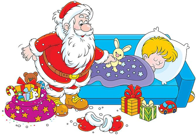 6 Tricks to Get the Kids to Sleep Before Santa Arrives