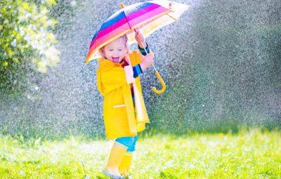 Dr Dina Kulik Kids Health - rainy weather
