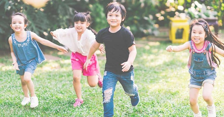 The importance of kids' exercise and being a good role model for kids