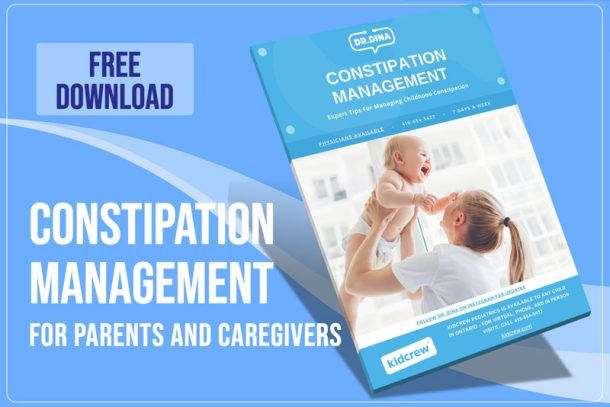 Dr Dina Kulik - Kids Health - Constipation Management